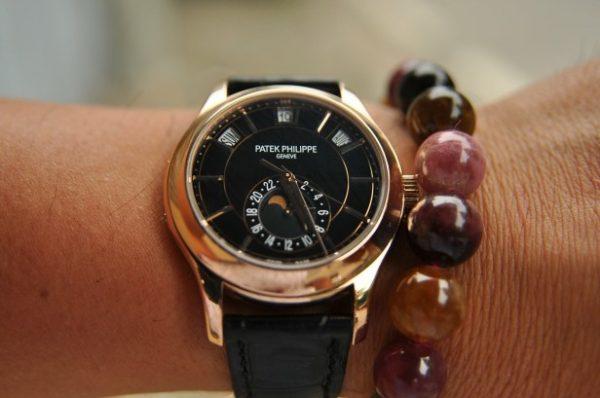 Đồng hồ Patek Philippe Complications vàng đúc 18k nguyên khối