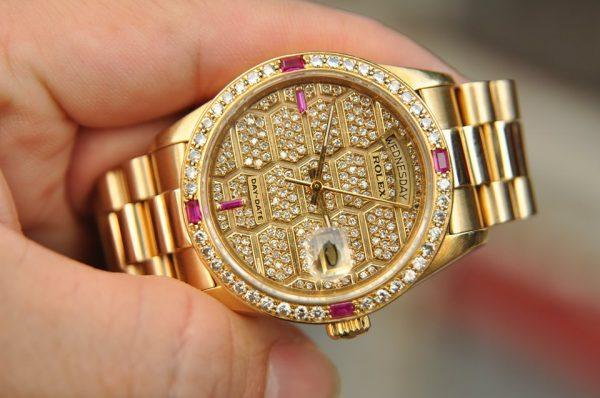 Đồng hồ Rolex 18038 Day Date President vàng đúc nguyên khối 18k