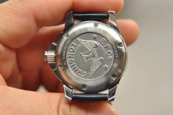 Đồng hồ Longines Conquest Chronograph L3.279.0.7.6 đính kim cương
