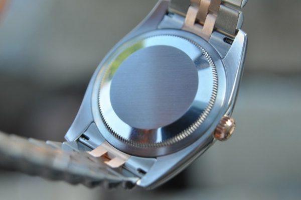 Đồng hồ Rolex 116231 Datejust mặt khảm ốc 7 màu cọc số kim cương