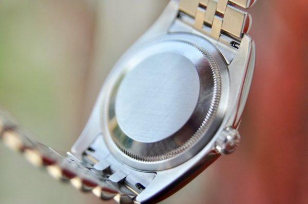 Đồng hồ Rolex 116234 Datejust mặt vi tính xanh đính kim cương