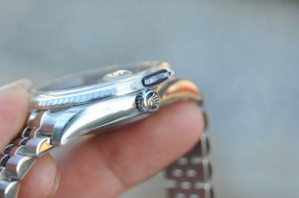 Đồng hồ Rolex 116234 Datejust Oyster Perpetual mặt xanh trơn