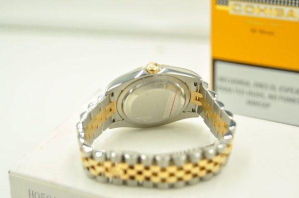 Đồng hồ Rolex Datejust 116233 demi mặt xanh cọc số kim cương