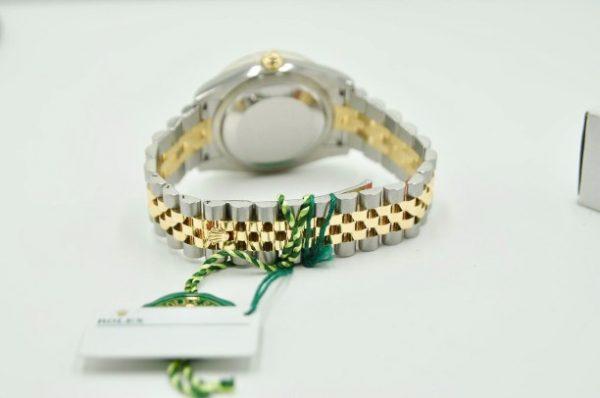 Đồng hồ Rolex Datejust 116233 mặt vi tính demi vàng khối 18k