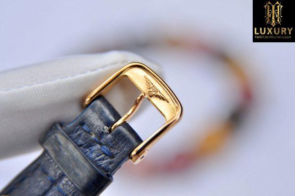 Đồng hồ Longines Elegant L4.378.9.12.0 Watch 27.2mm vàng khối niềng kim zin