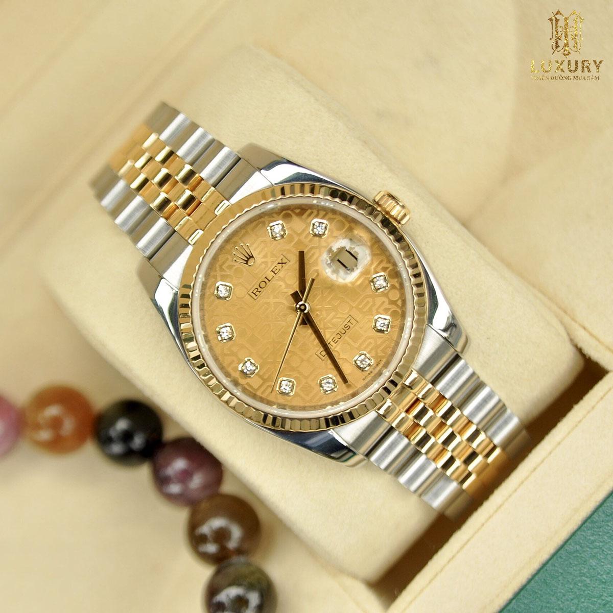 10 chiếc đồng hồ Rolex cũ đáng lựa chọn nhất 2021 Dong-ho-rolex-116233-datejust-oyster-perpetual-demi-vang-duc-18k-1