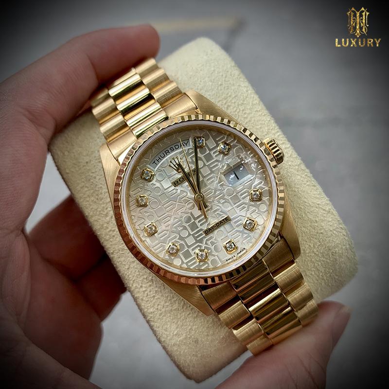 10 chiếc đồng hồ Rolex cũ đáng lựa chọn nhất 2021 Dong-ho-rolex-18238-day-date-president-mat-vi-tinh-vang-duc-18k-1